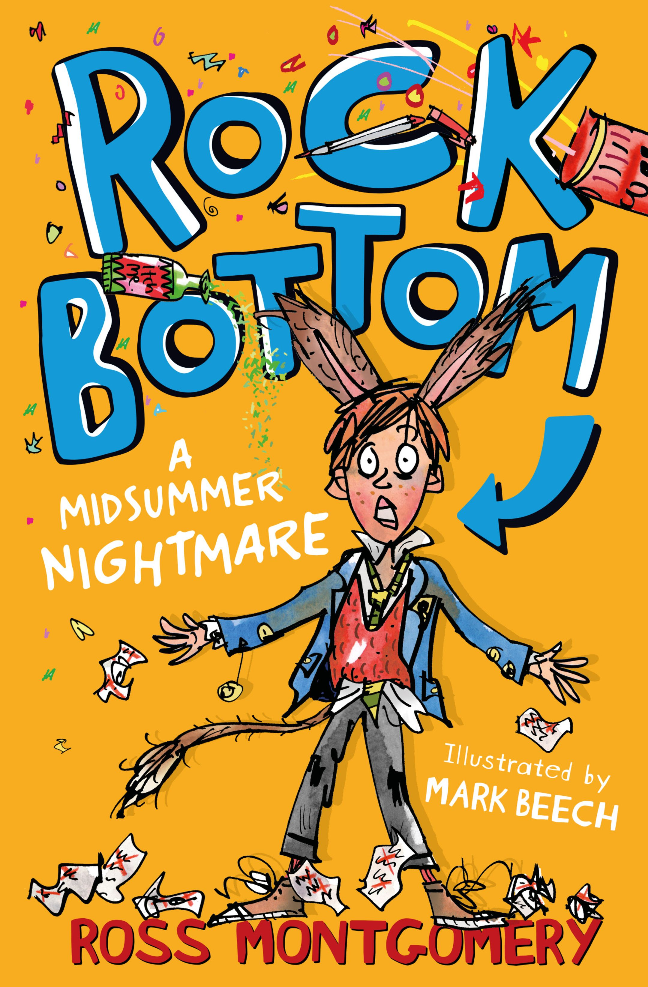 The book cover image of Rock Bottom by Ross Montgomery