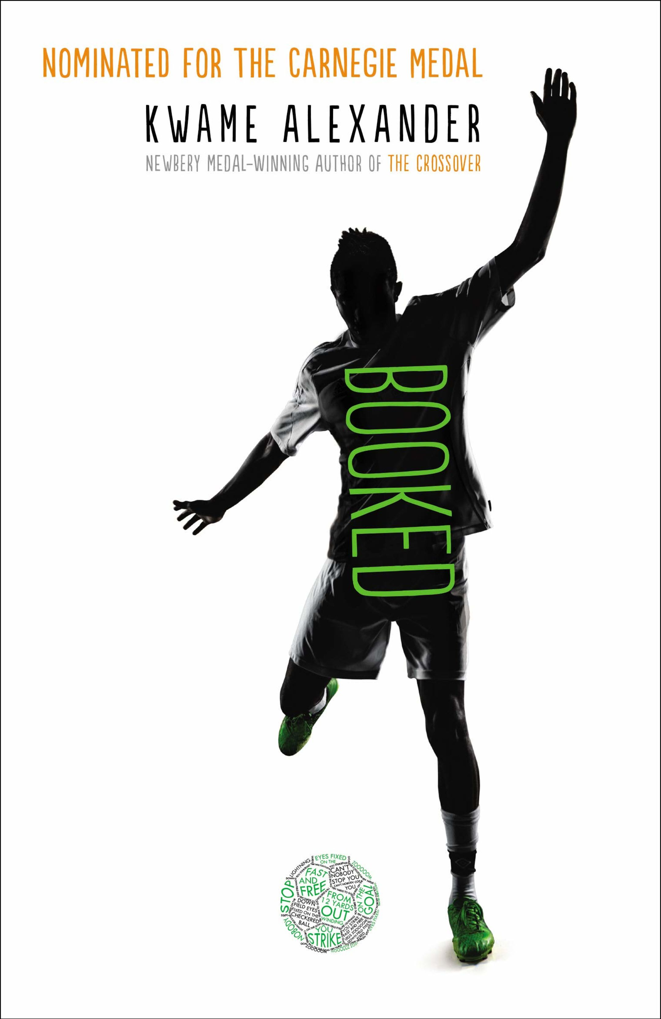 An image of the book cover for Booked by Kwame Alexander.