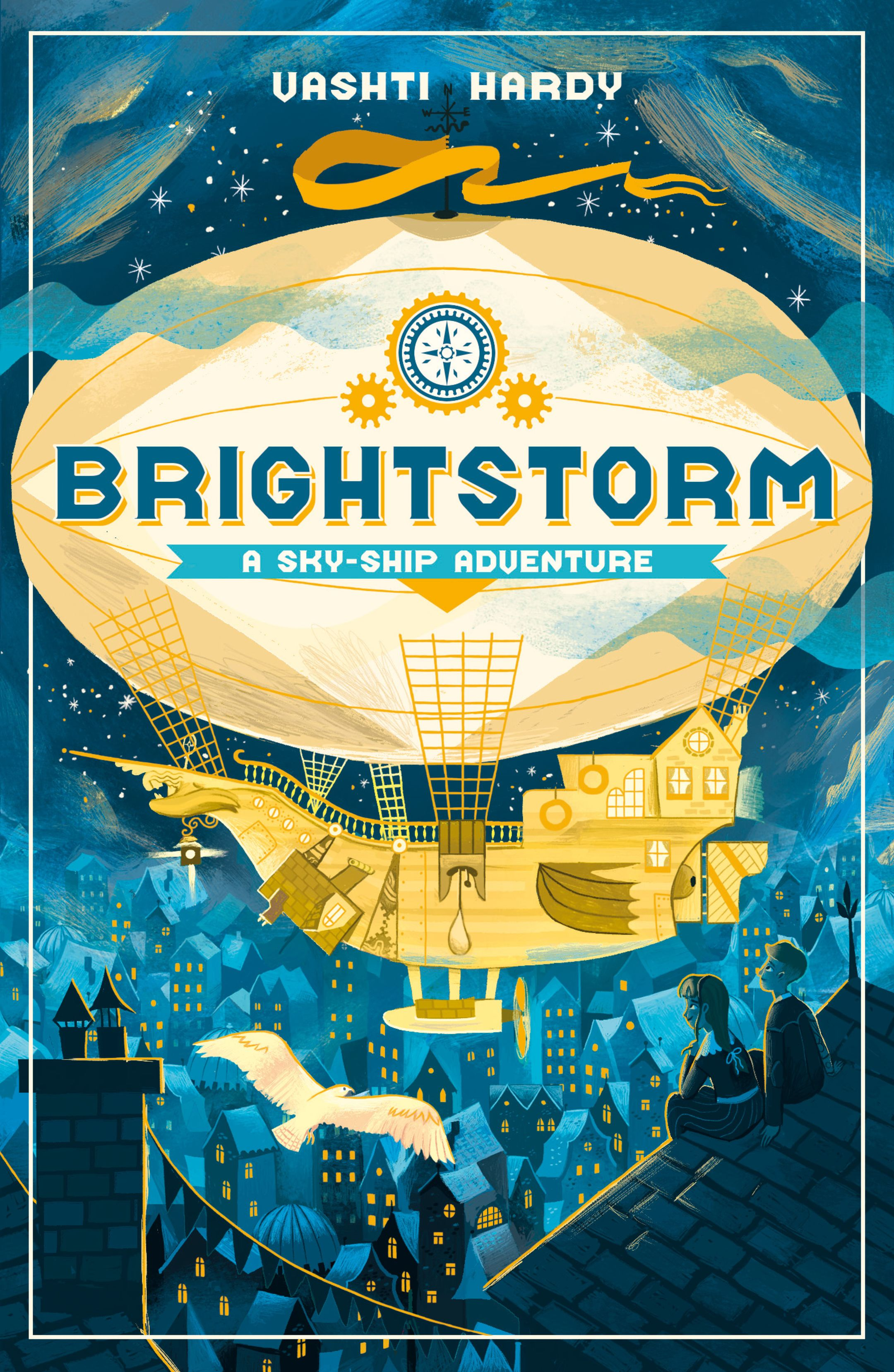 The book cover of Brightstorm, by Vashti Hardy