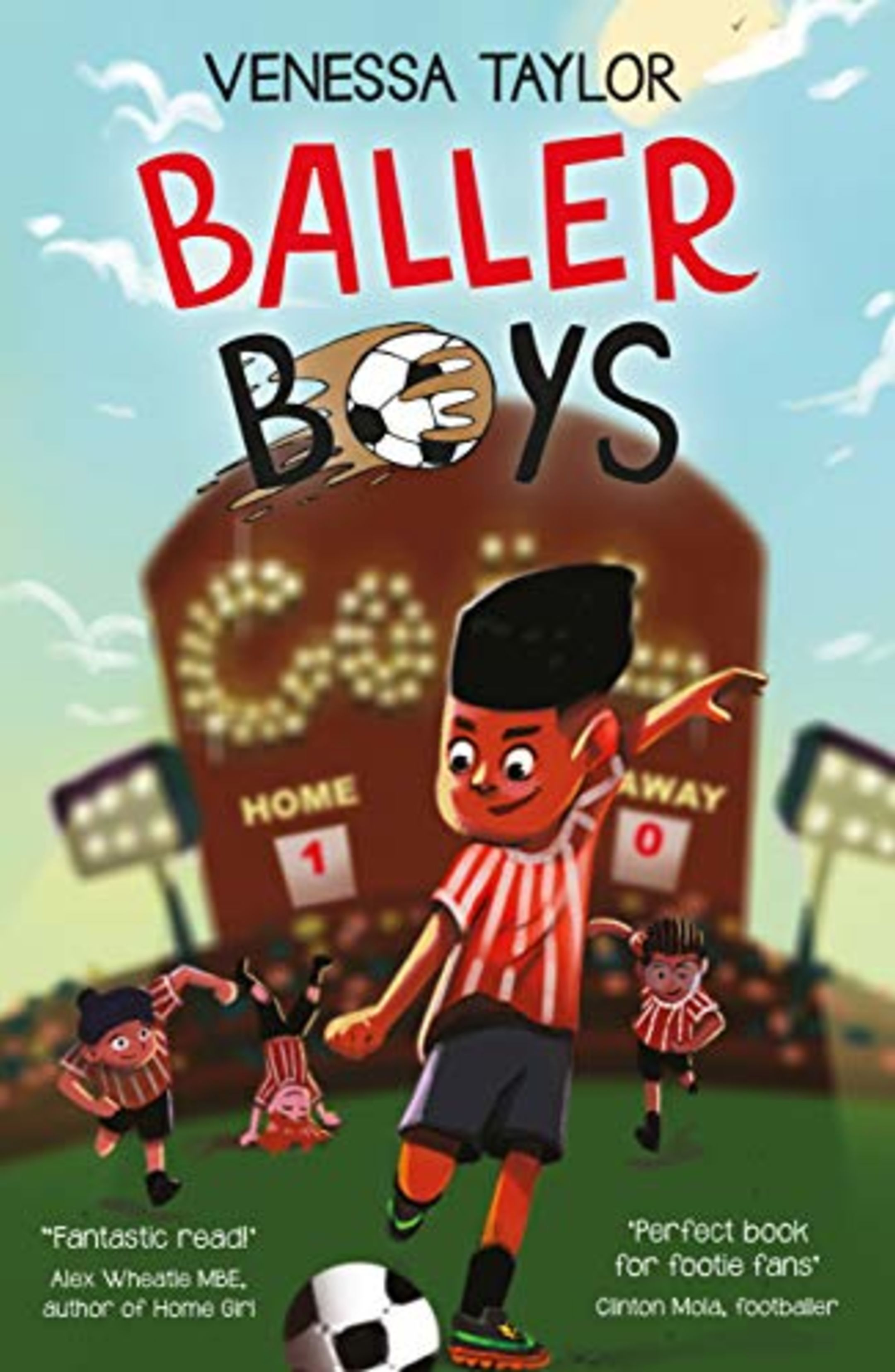 The book cover of Baller Boys, by Venessa Taylor