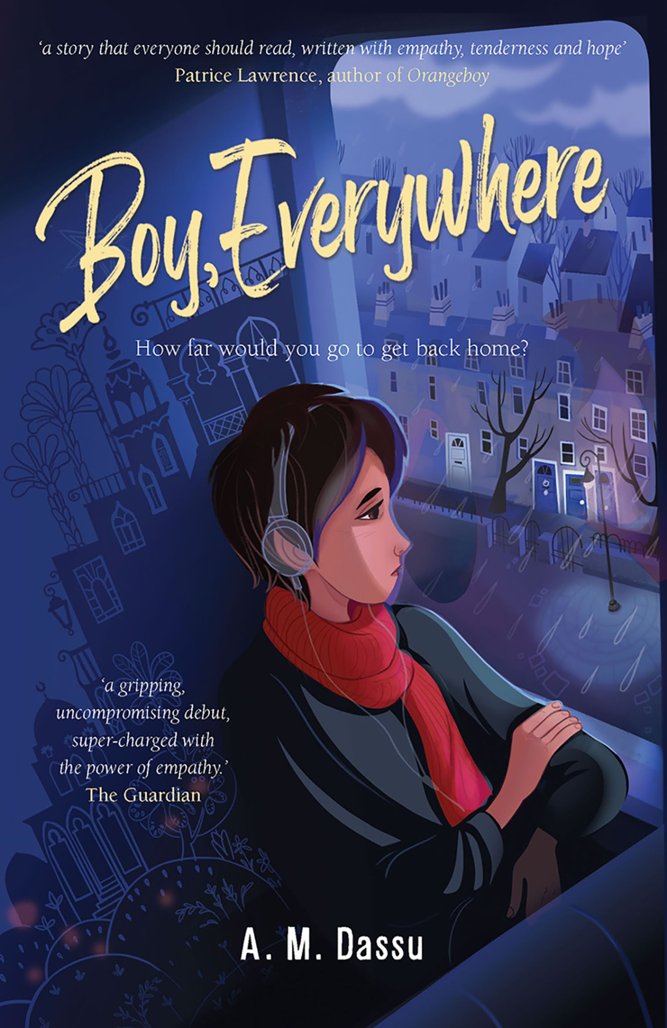 An image of the book cover Boy Everywhere, by A.M. Dassu