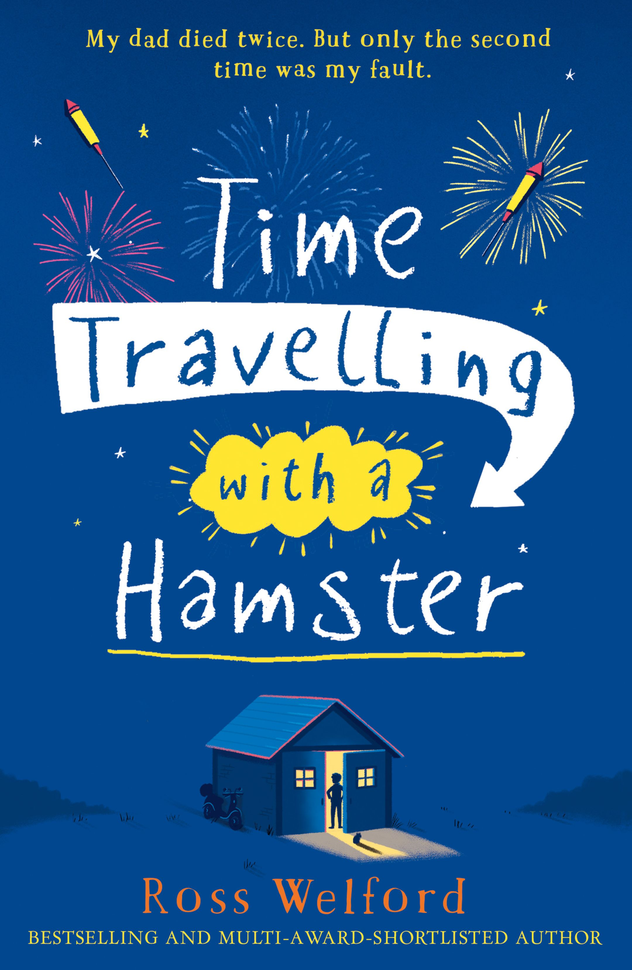 The cover of Time Travelling with a Hamster, by Ross Welford