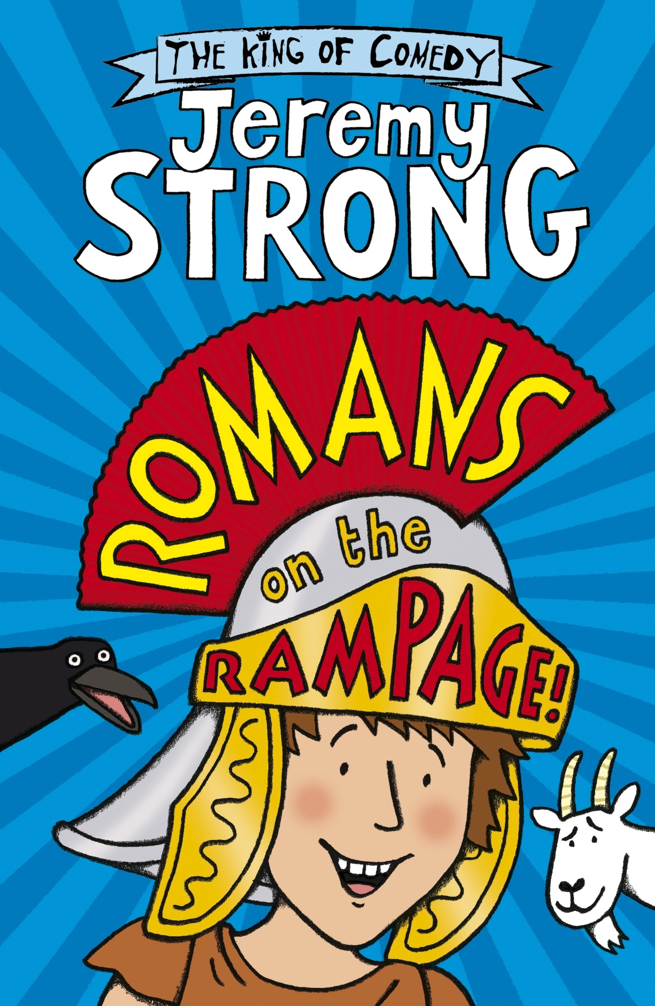 The book cover of Romans on the Rampage, by Jeremy Strong
