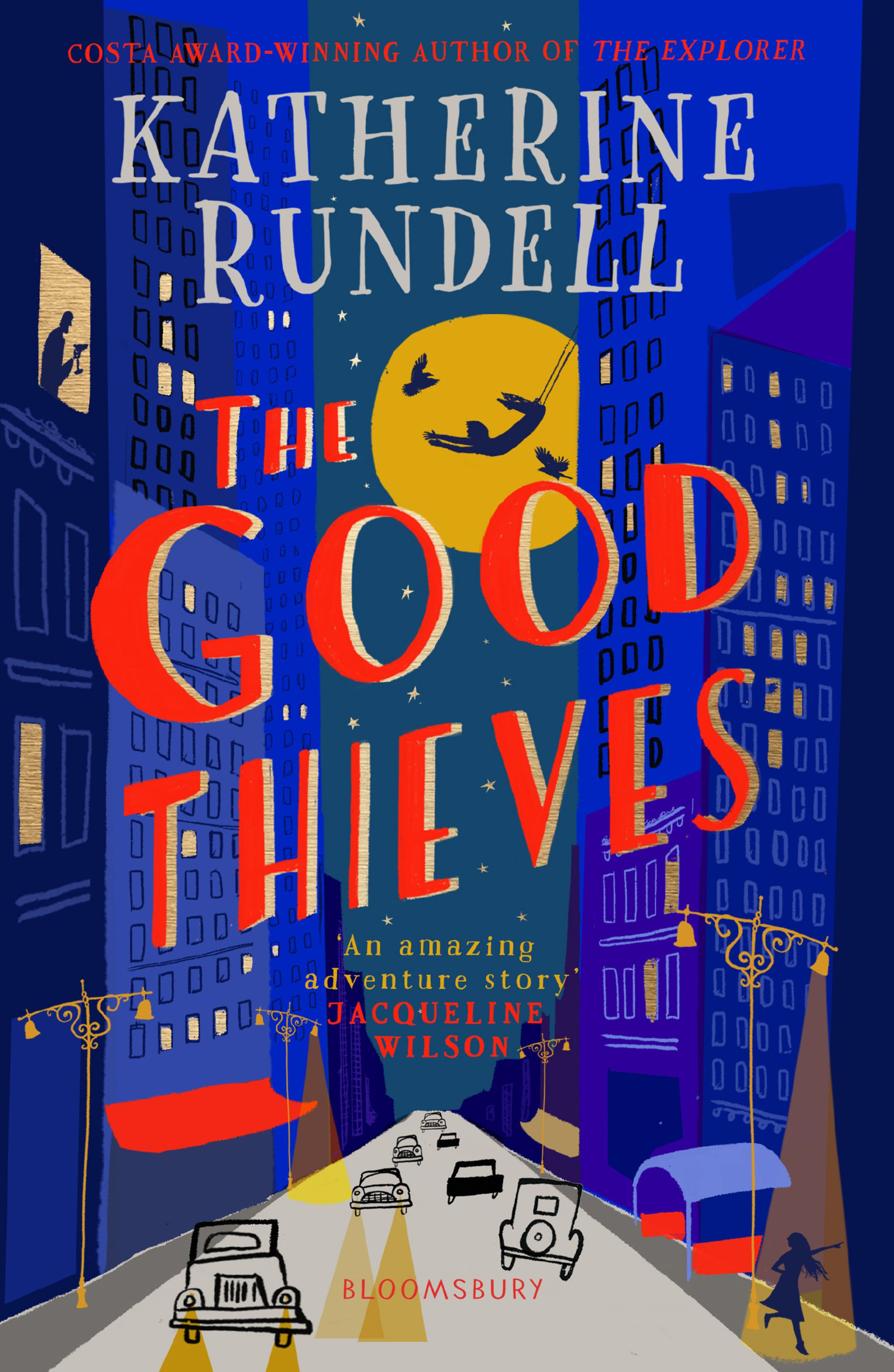 The book cover of The Good Thieves, by Katherine Rundell