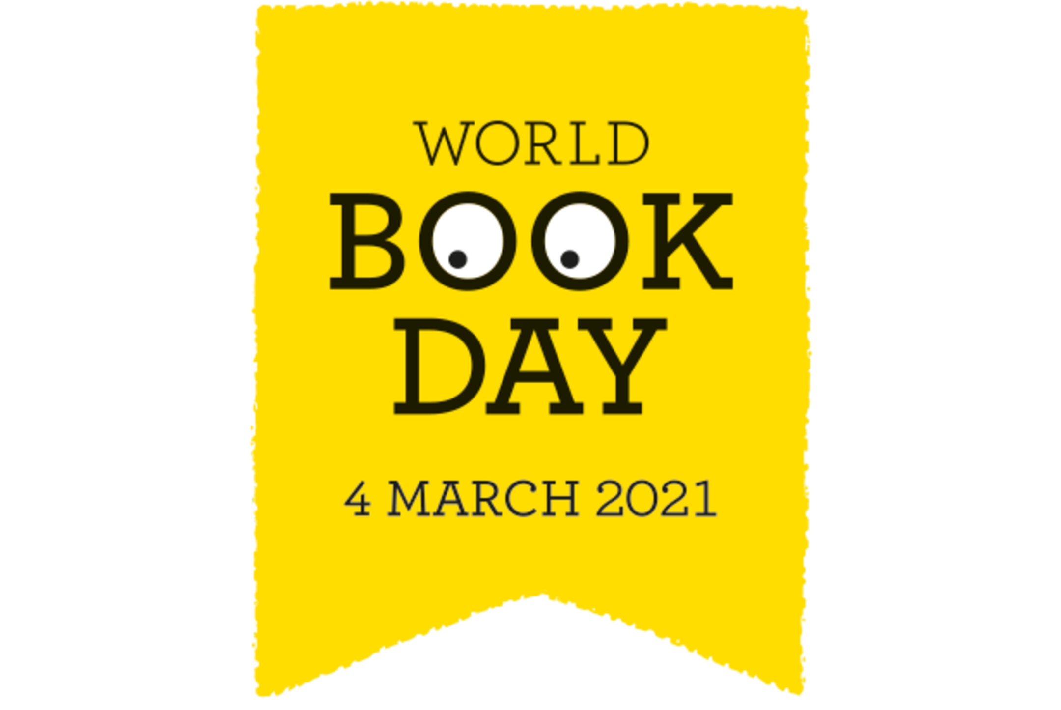 World book day logo - 4 March 2021